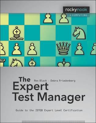 Expert Test Manager book