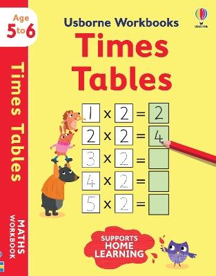 Usborne Workbooks Times tables 5-6 book