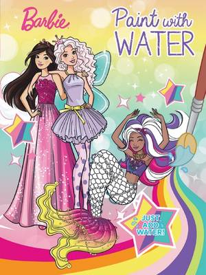 Barbie Paint with Water book