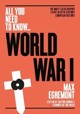 World War One by Max Egremont