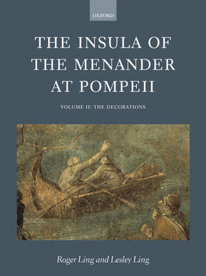 The Insula of the Menander at Pompeii book