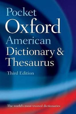 Pocket Oxford American Dictionary & Thesaurus book