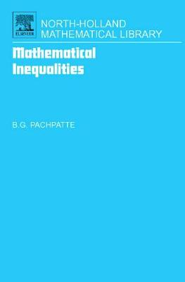 Mathematical Inequalities by B. G. Pachpatte
