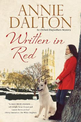 Written in Red: A Spy Thriller Set in Oxford with Echoes of the Cold War by Annie Dalton