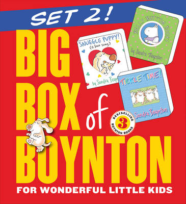 Big Box of Boynton Set 2!: Snuggle Puppy! Belly Button Book! Tickle Time! by Workman Publishing