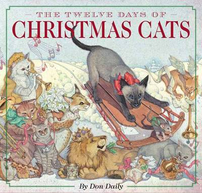 12 Days of Christmas Cats by Don Daily