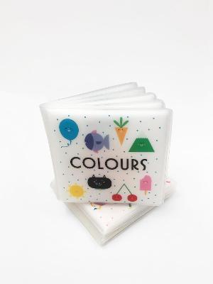 First Concept Bath Book: Colours book
