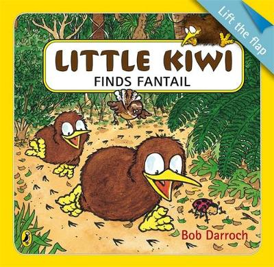 Little Kiwi Finds Fantail LTF book