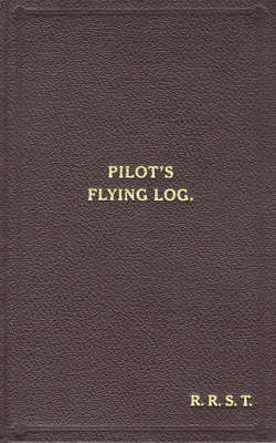 W/Cdr Robert Stanford Tuck Facsimile Flying Log Book book