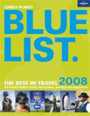 The Lonely Planet Bluelist: 2008 by Roz Hopkins