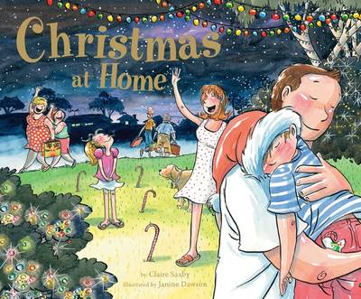 Christmas at Home by Saxby Claire