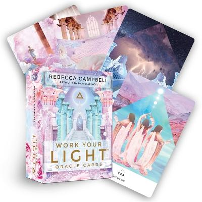 Work Your Light Oracle Cards: A 44-Card Deck and Guidebook book