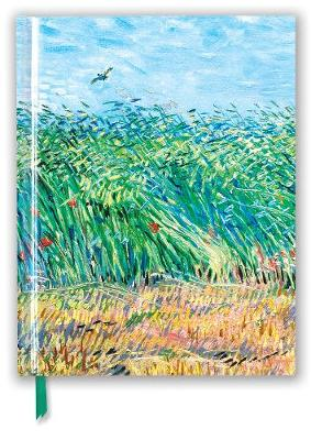 Vincent van Gogh: Wheat Field with a Lark (Blank Sketch Book) by Flame Tree Studio