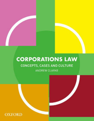 Corporations Law Textbook by Andrew Clarke