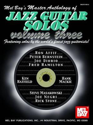 Master Anthology of Jazz Guitar Solos by Mel Bay