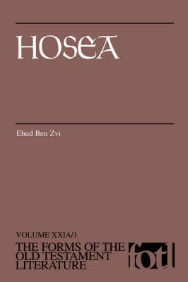 Hosea by Ehud Ben Zvi