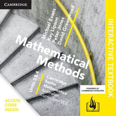 CSM VCE Mathematical Methods Units 3 and 4 Digital (Card) by Michael Evans