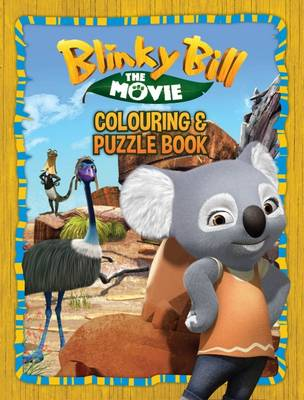 Blinky Bill the Movie Colouring Book book