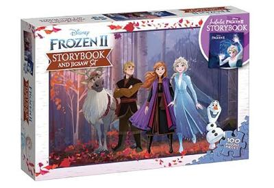FROZEN 2 BOOK & PUZZLE NEW ED book