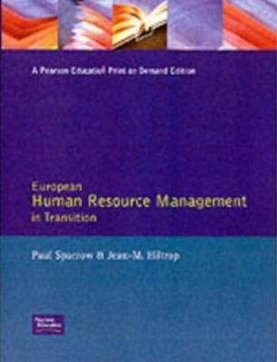 European Human Resource Management Trans by Paul Sparrow
