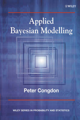 Applied Bayesian Modelling by Peter Congdon