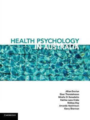Health Psychology in Australia by Jill Dorrian