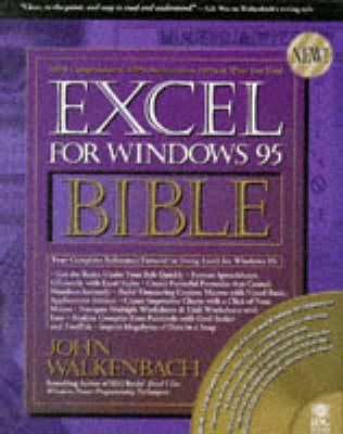 EXCEL for Windows 95 Bible by John Walkenbach