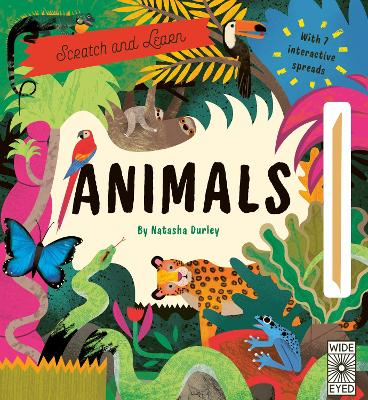 Scratch and Learn Animals by Natasha Durley
