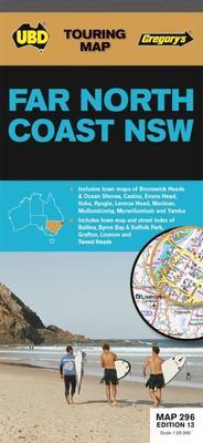 Far North Coast NSW Map 296 13th ed by UBD Gregorys