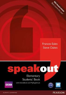 Speakout Elementary Students' Book for DVD/Active book and MyLab Pack by Frances Eales
