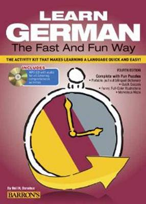 Learn German the Fast and Fun Way with MP3 CD by Neil H. Donohue