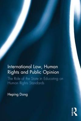 International Law, Human Rights and Public Opinion book