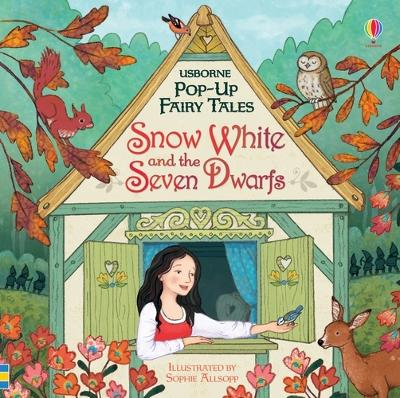 Pop-up Snow White and the Seven Dwarfs book