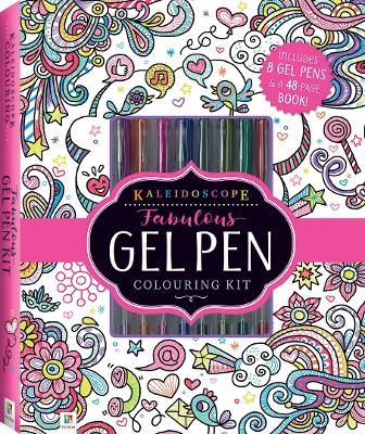Kaleidoscope Fabulous Gel Pen Colouring Kit by