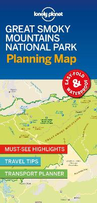 Lonely Planet Great Smoky Mountains National Park Planning Map by Lonely Planet