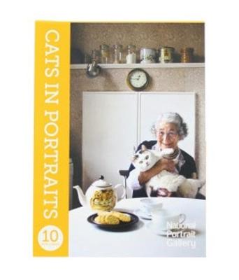 Cats in Portraits: 10 Postcards book