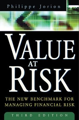 Value at Risk, 3rd Ed. by Philippe Jorion