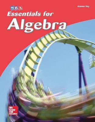 Essentials for Algebra, Answer Key by McGraw Hill