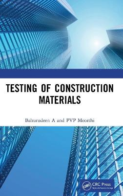 Testing of Construction Materials book