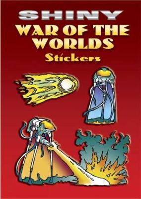 Shiny War of the Worlds Stickers by Jeff A Menges