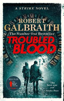 Troubled Blood: Winner of the Crime and Thriller British Book of the Year Award 2021 book