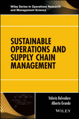 Sustainable Operations and Supply Chain Management by Valeria Belvedere