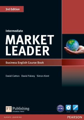 Market Leader 3rd Edition Intermediate Coursebook & DVD-Rom Pack by David Cotton