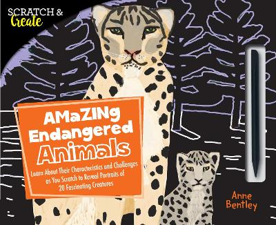 Scratch & Create: Amazing Endangered Animals book