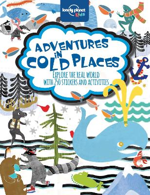 Adventures in Cold Places, Activities and Sticker Books book