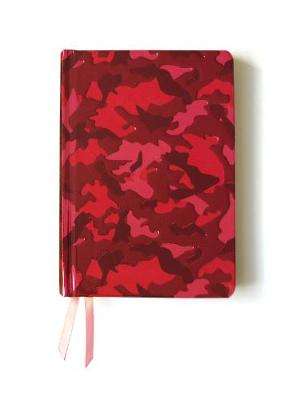Pink Camouflage (Contemporary Foiled Journal) by Flame Tree