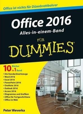 Office 2016 fur Dummies Alles-in-einem-Band book