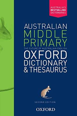 Australian Middle Primary Oxford Dictionary & Thesaurus book