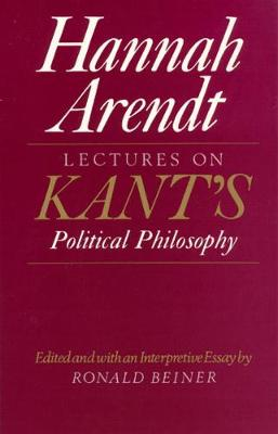 Lectures on Kant's Political Philosophy book