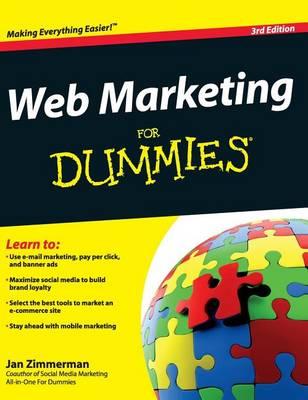 Web Marketing for Dummies by Jan Zimmerman